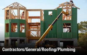 Contractors/General/Roofing/Plumbing