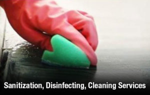 Sanitization, Disinfecting, Cleaning Services